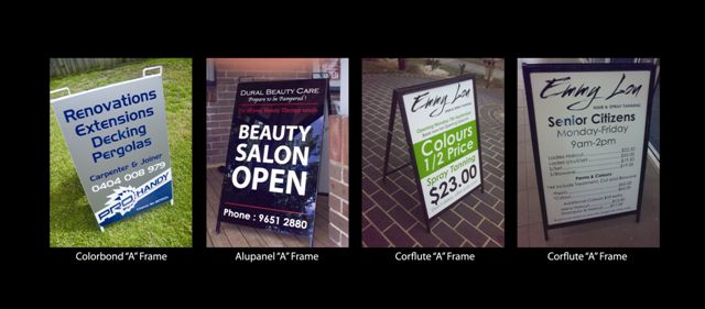 A Frame Signage Solutions by Signature Graphix